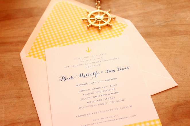 nautical rehearsal dinner invite 2