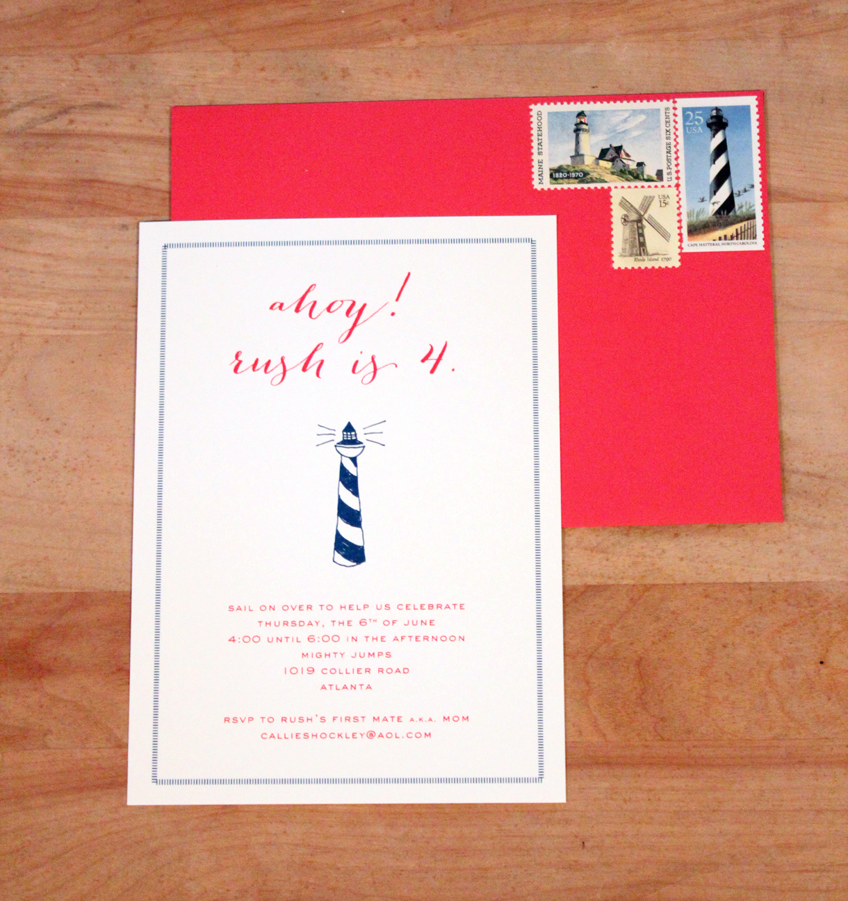 party invitations | Calliespondence