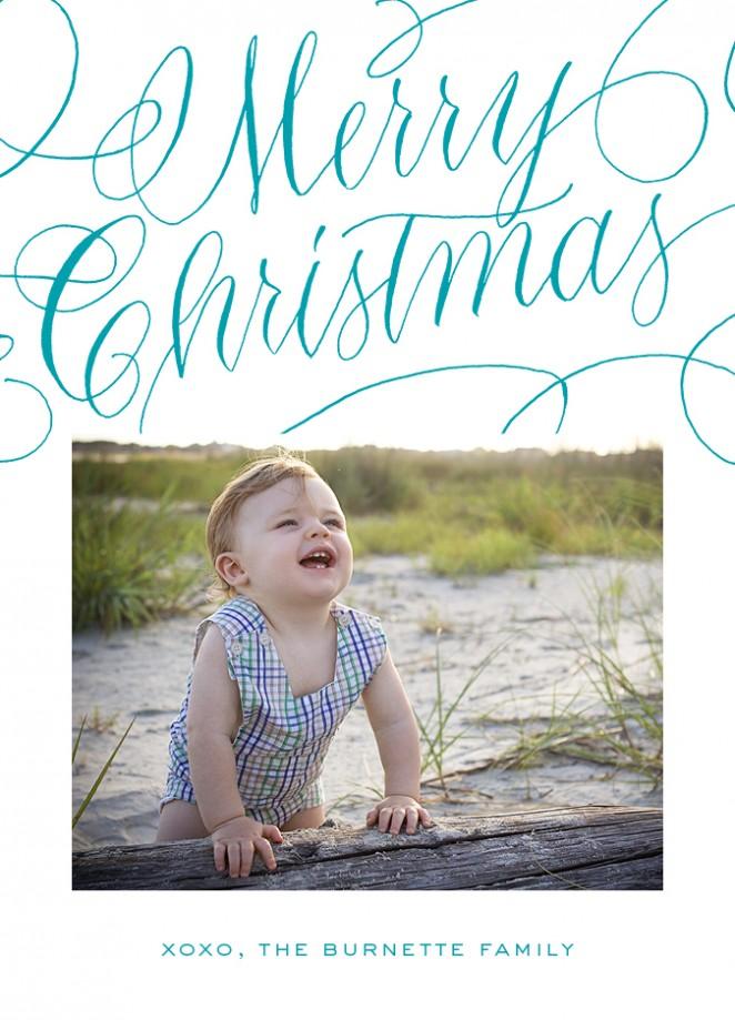 merry christmas turq