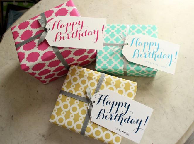 ALL birthday tags