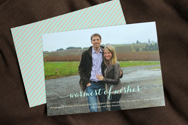 1_photo card warmest wishes