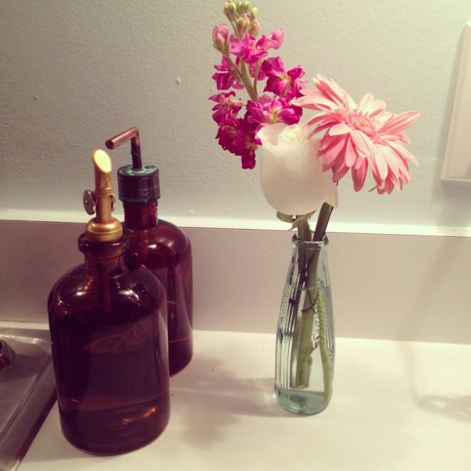 sink flowers