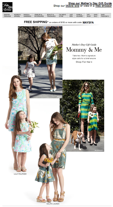 mommy and me looks