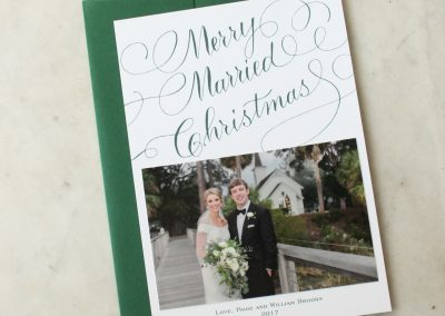 MERRY MARRIED CHRISTMAS
