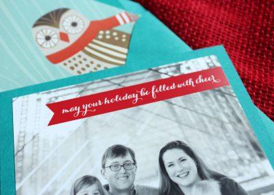 pennant photo card