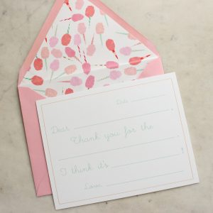 fill in notecard cotton candy